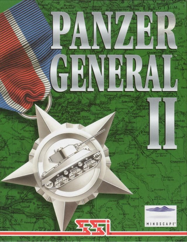 Allied General Windows Front Cover