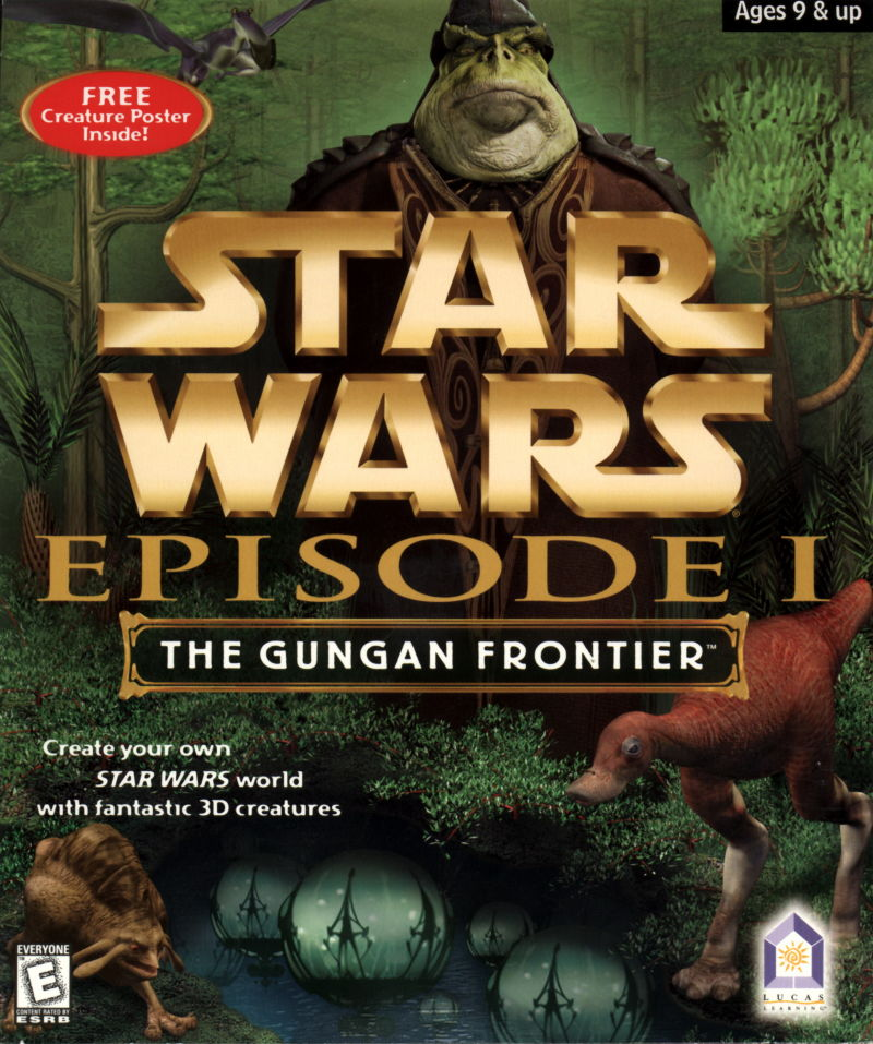 Star Wars: Episode I - The Gungan Frontier Windows Front Cover