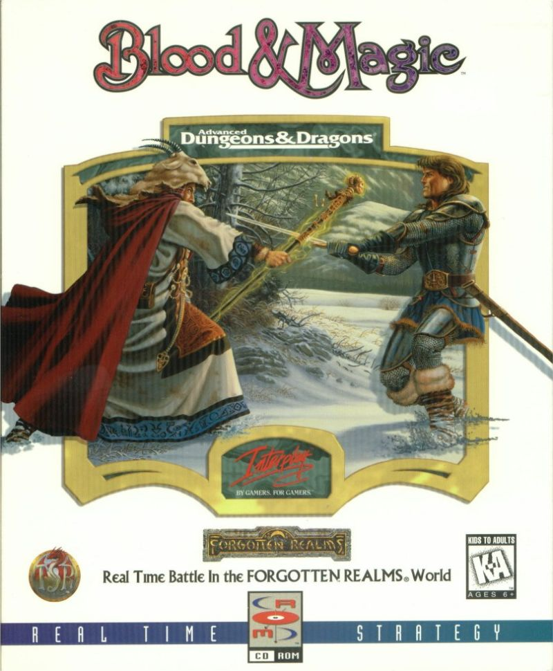 Blood & Magic DOS Front Cover