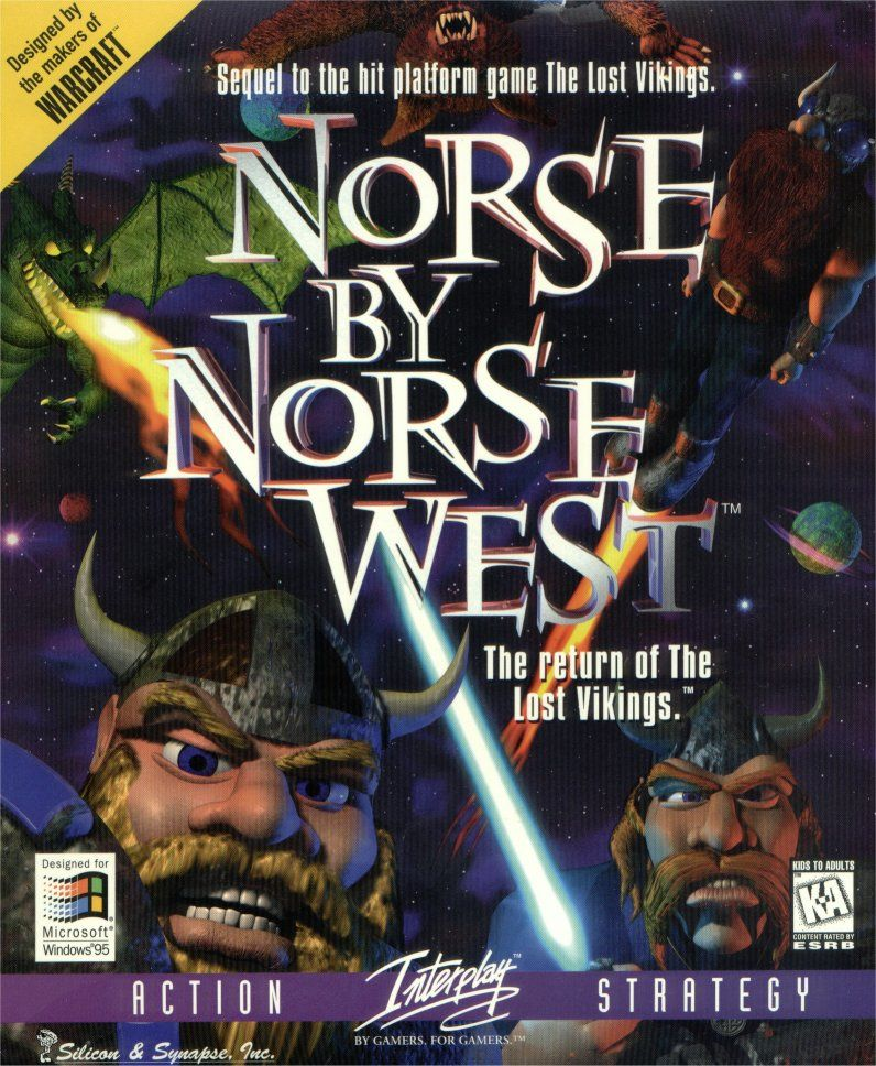 Norse by Norse West: The Return of the Lost Vikings Windows Front Cover