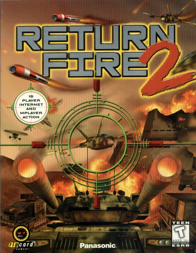 Return Fire 2 Windows Front Cover