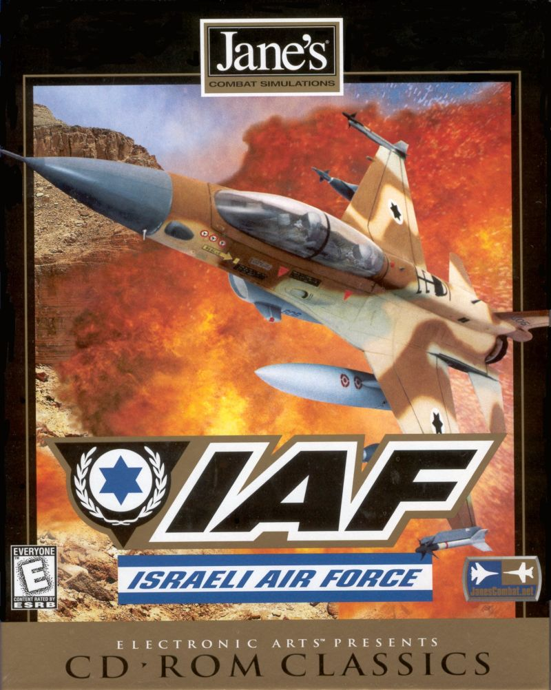 Jane's Combat Simulations: Israeli Air Force Windows Front Cover