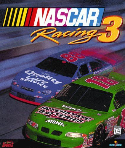NASCAR Racing 3 Windows Front Cover