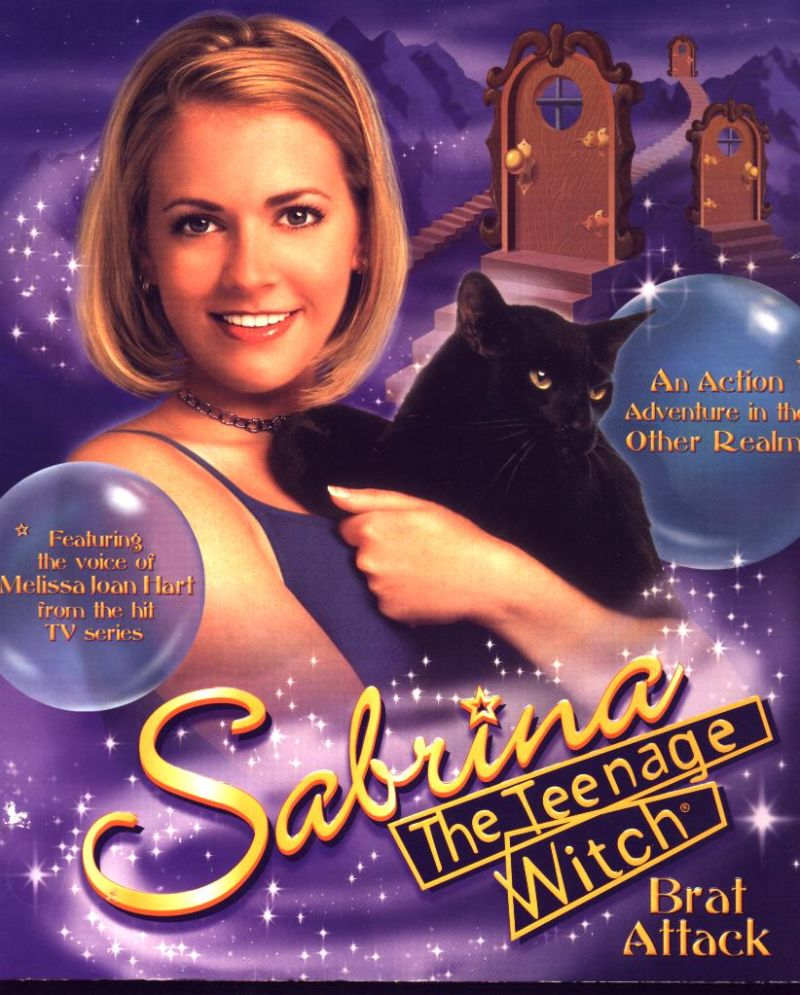 Sabrina, the Teenage Witch: Brat Attack Windows Front Cover