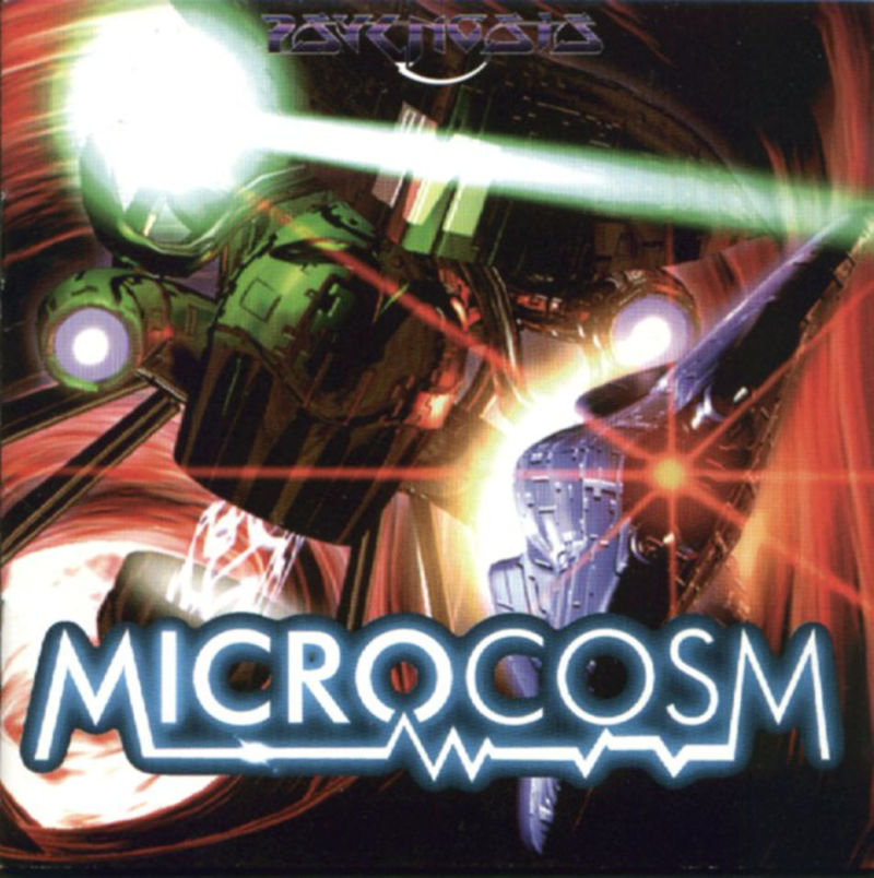 Microcosm DOS Front Cover