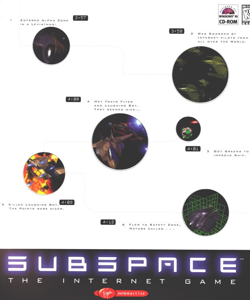 SubSpace Windows Front Cover