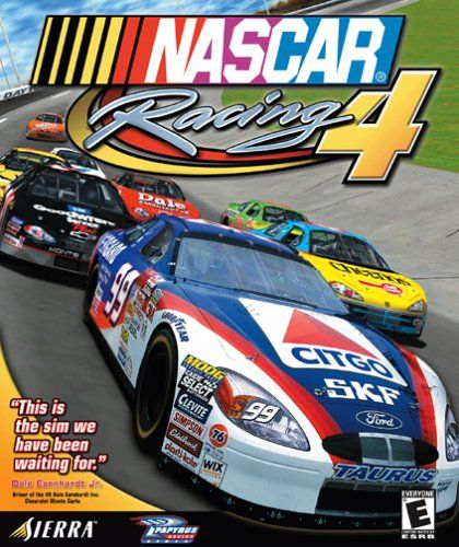 NASCAR Racing 4 Windows Front Cover