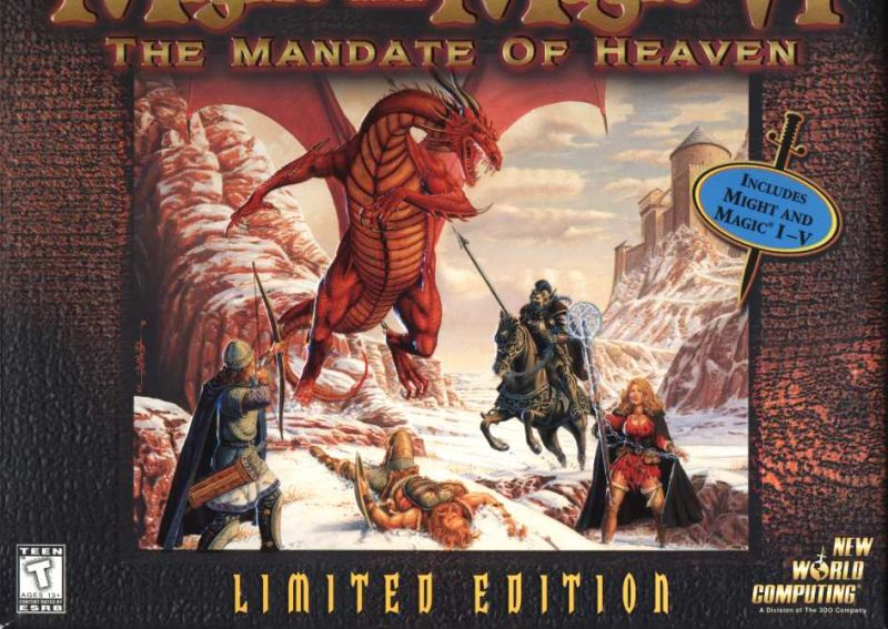 Might and Magic VI: The Mandate of Heaven (Limited Edition) Windows Front Cover