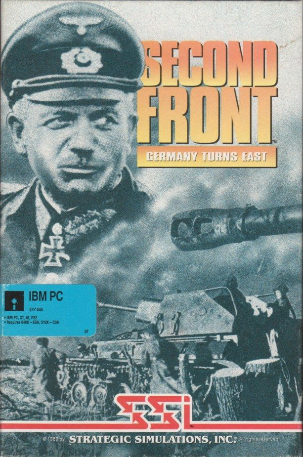 Second Front: Germany Turns East DOS Front Cover