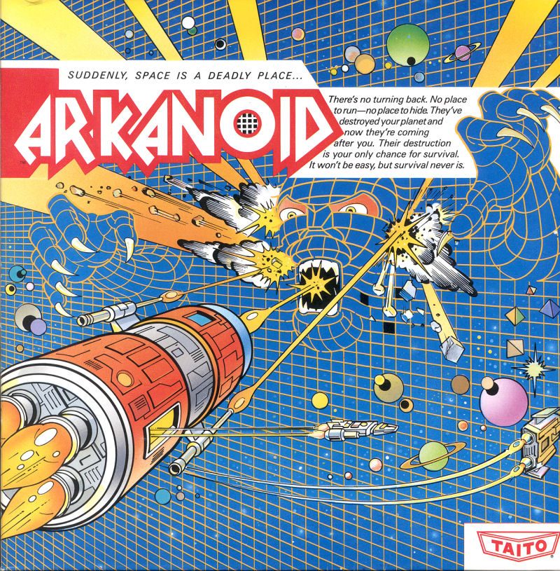 Arkanoid DOS Front Cover