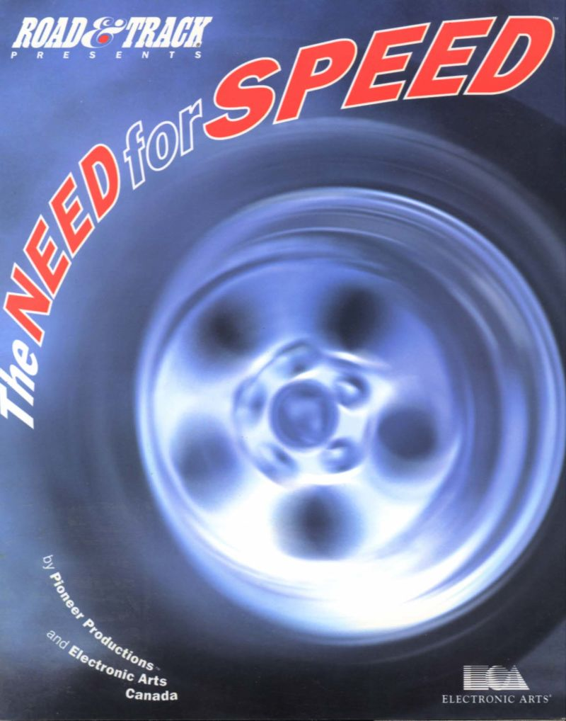 The Need for Speed DOS Front Cover