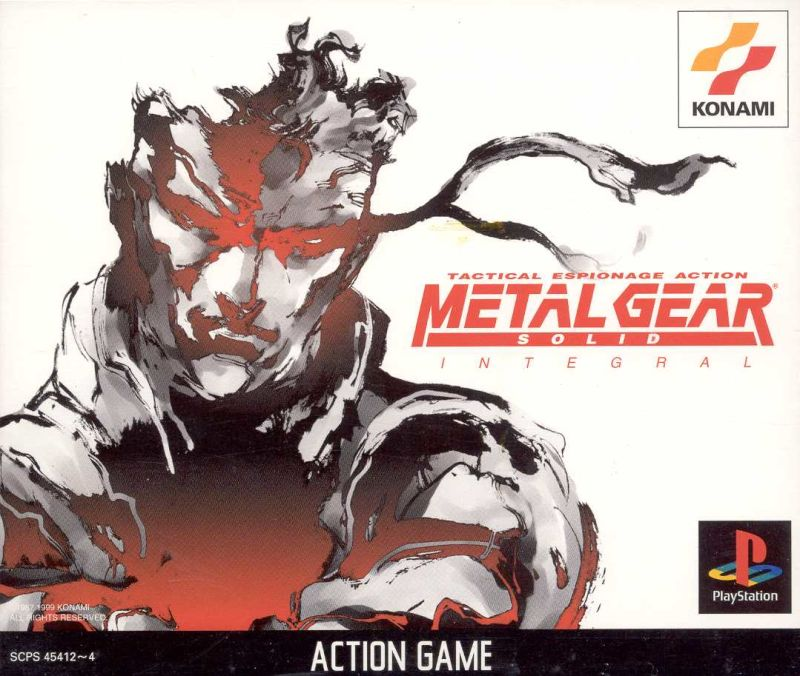 Metal Gear Solid PlayStation Front Cover
