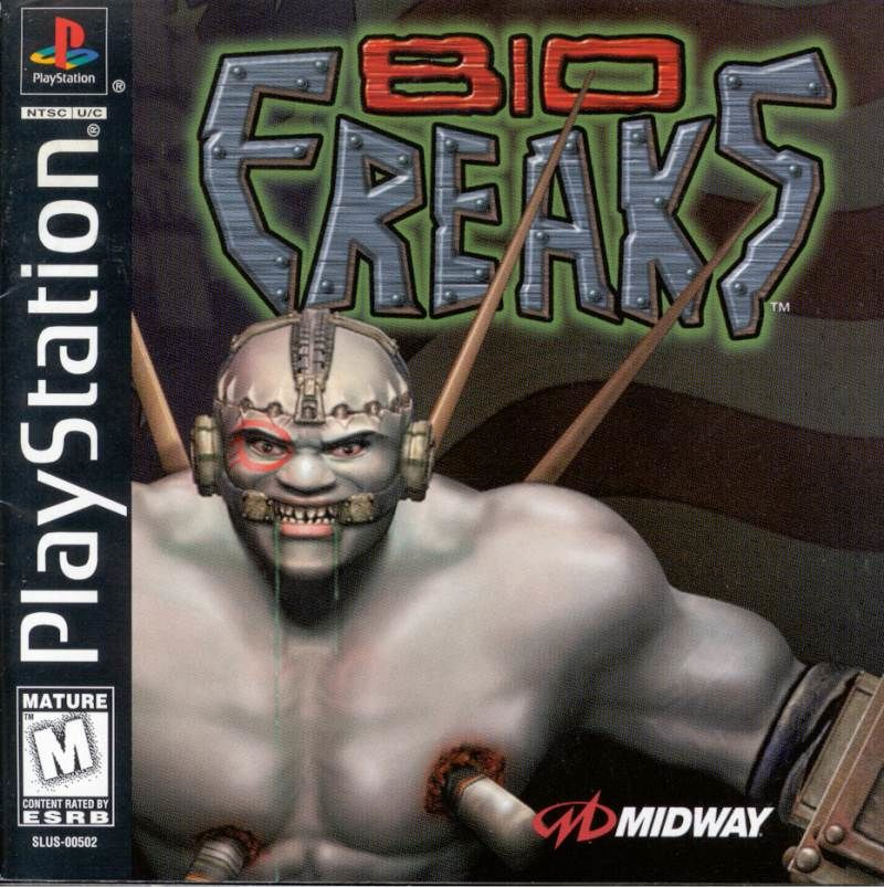Bio FREAKS PlayStation Front Cover