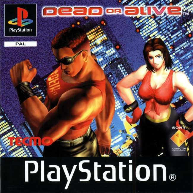 dead or alive 1996 arcade box cover art mobygames