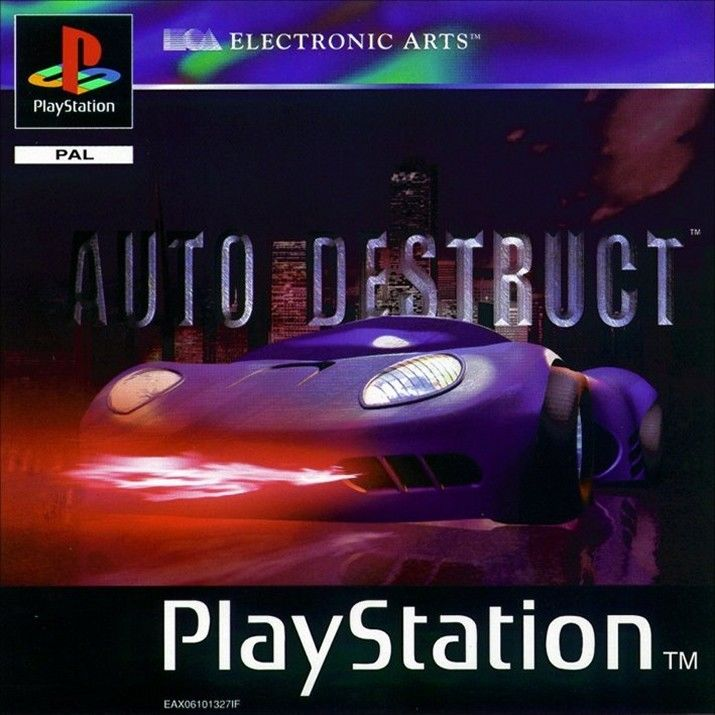 Auto Destruct PlayStation Front Cover