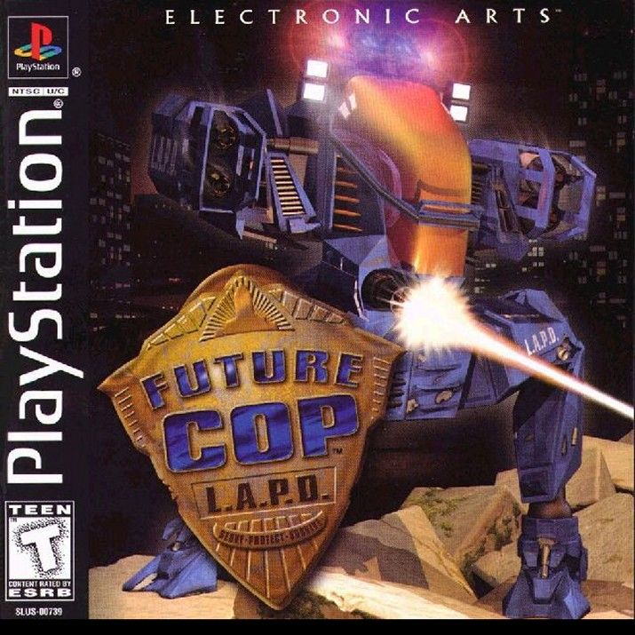 Future Cop: L.A.P.D. PlayStation Front Cover