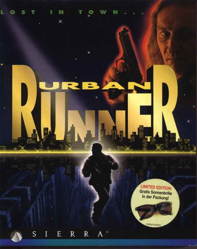 Urban Runner DOS Front Cover