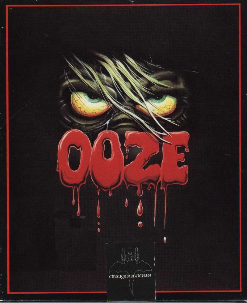Ooze: Creepy Nites DOS Front Cover