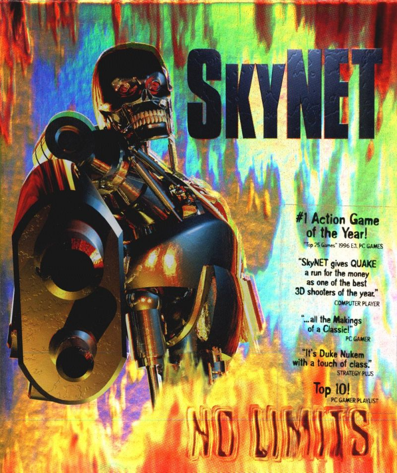 SkyNET DOS Front Cover