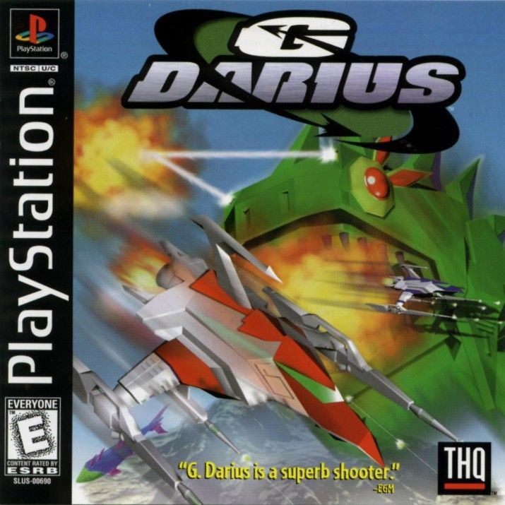 G Darius PlayStation Front Cover