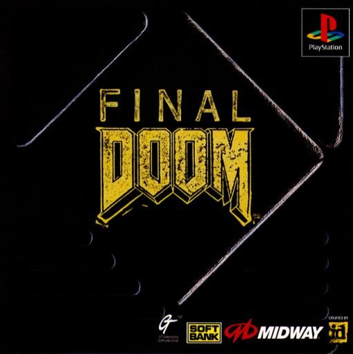 Final DOOM PlayStation Front Cover