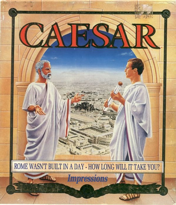Caesar DOS Front Cover