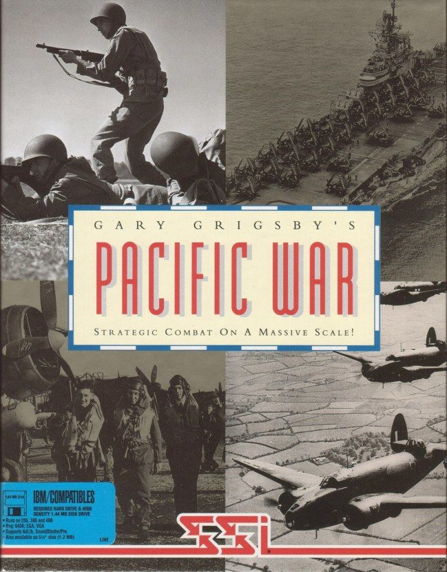 Gary Grigsby's Pacific War DOS Front Cover