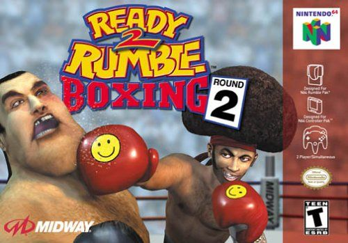 Ready 2 Rumble Boxing: Round 2 Nintendo 64 Front Cover
