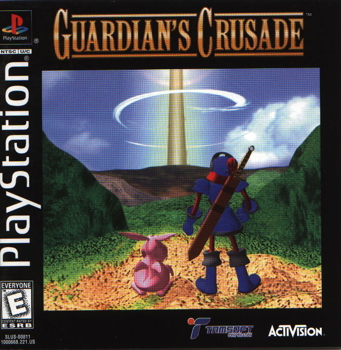 Guardian's Crusade PlayStation Front Cover