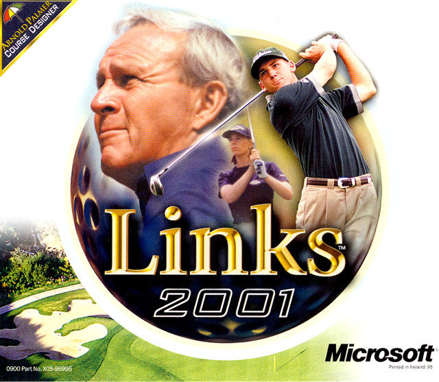 Links 2001 Windows Other Jewel Case - Front