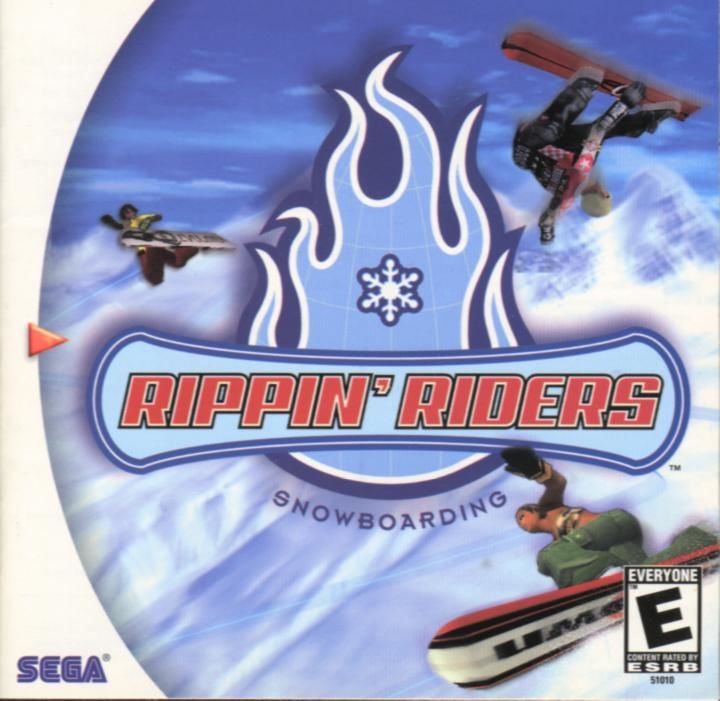 Rippin' Riders Dreamcast Front Cover