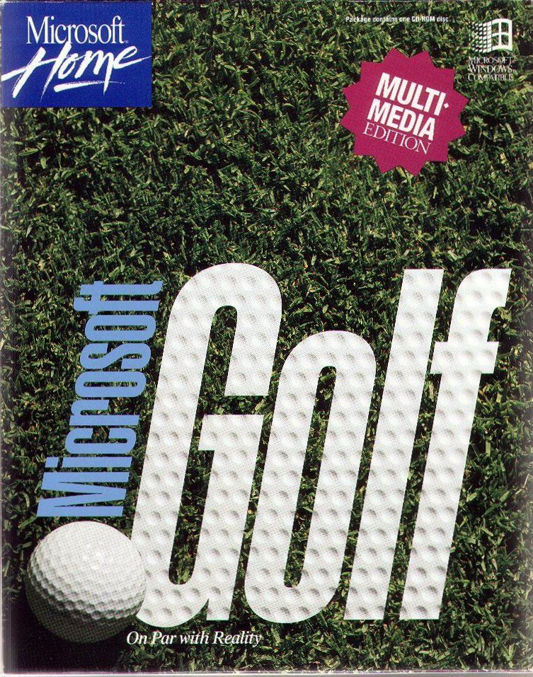 Microsoft Golf 3.0 Windows Front Cover