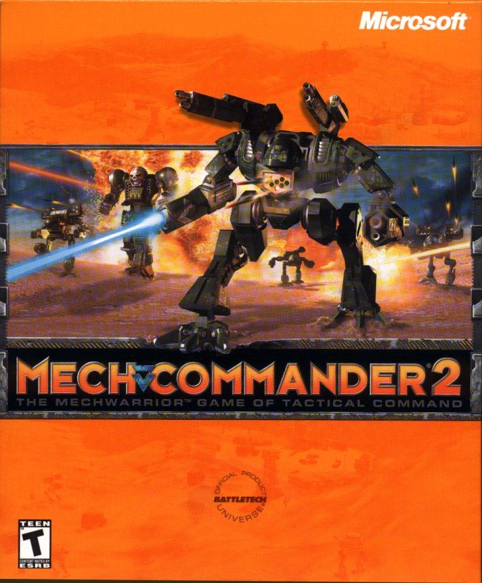 MechCommander 2 Windows Front Cover