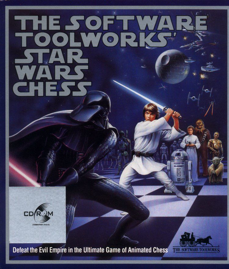 Star Wars Chess Windows Front Cover