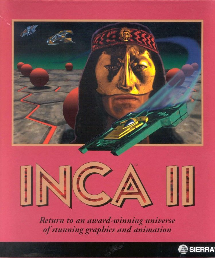 Inca II: Nations of Immortality DOS Front Cover