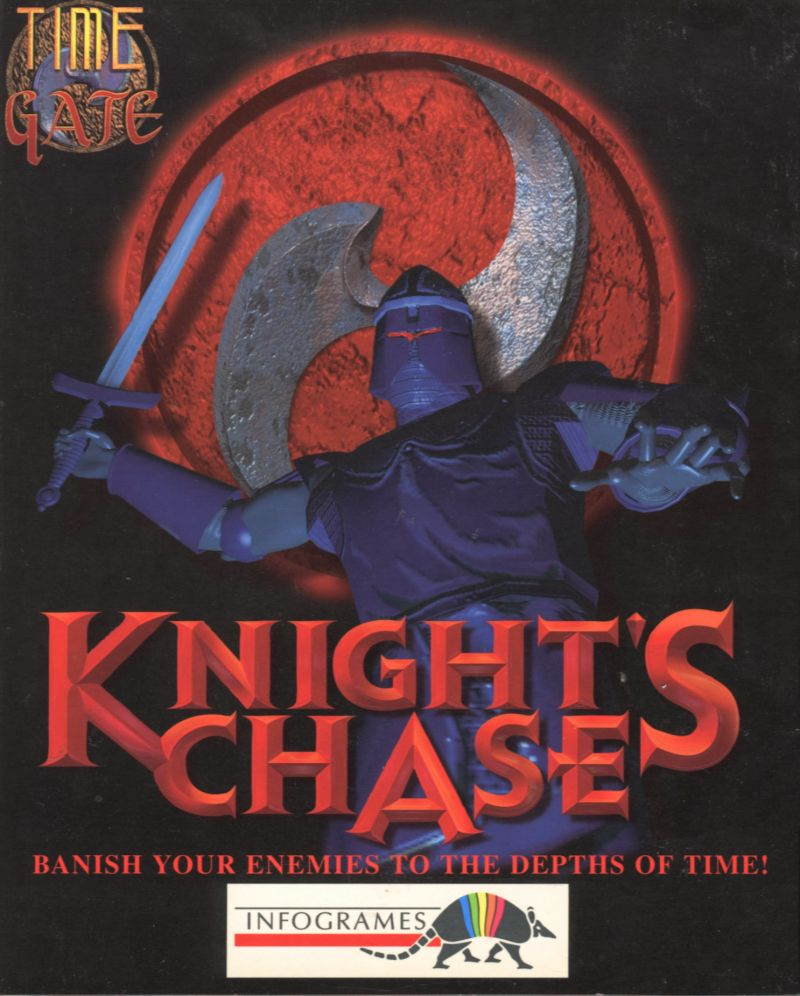 Time Gate: Knight's Chase DOS Front Cover