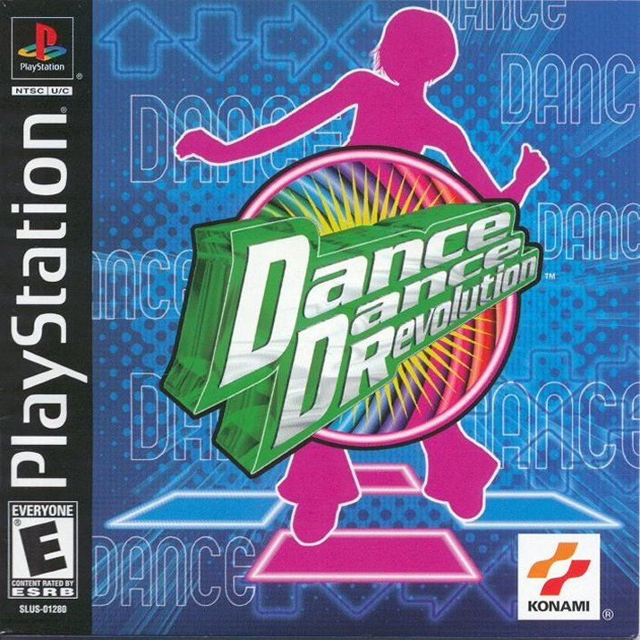 Dance Dance Revolution PlayStation Front Cover