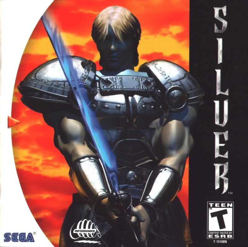 Silver Dreamcast Front Cover