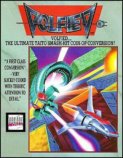 Volfied DOS Front Cover