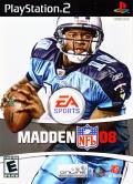 Madden NFL 08 PlayStation 2 Front Cover