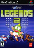 Taito Legends 2 PlayStation 2 Front Cover