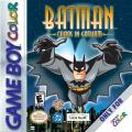 Batman: Chaos in Gotham Game Boy Color Front Cover