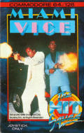 Miami Vice Commodore 64 Front Cover