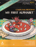My First Alphabet Atari 8-bit Front Cover