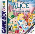 Walt Disney's Alice in Wonderland  Game Boy Color Front Cover
