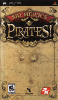 Sid Meier's Pirates! PSP Front Cover