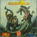 Golden Axe Amstrad CPC Front Cover