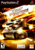 The Fast and the Furious: Tokyo Drift PlayStation 2 Front Cover