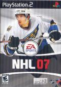 NHL 07 PlayStation 2 Front Cover