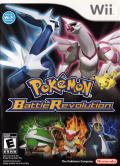 Pokémon Battle Revolution Wii Front Cover